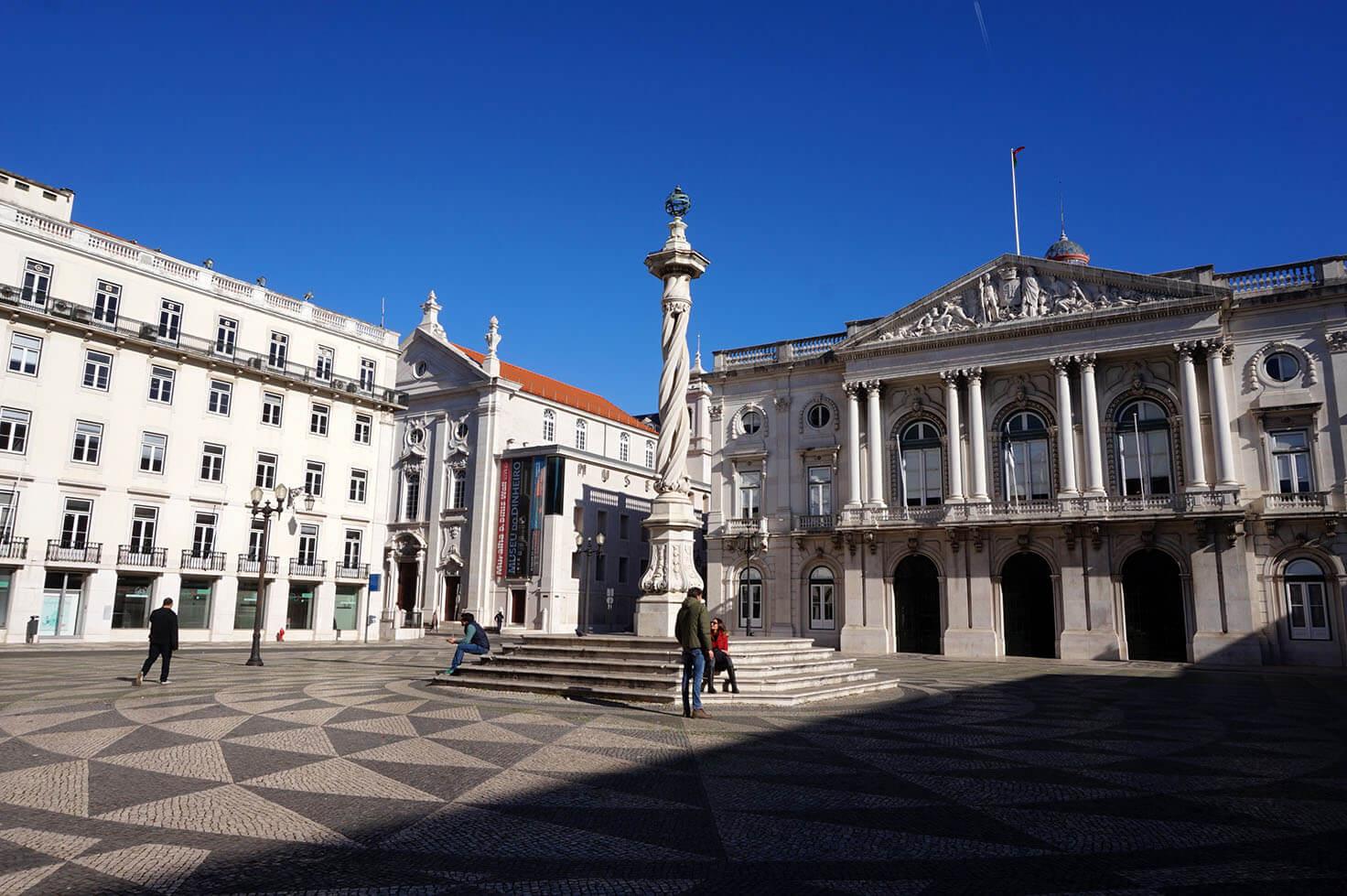 Arquitectura de Lisboa - Squares