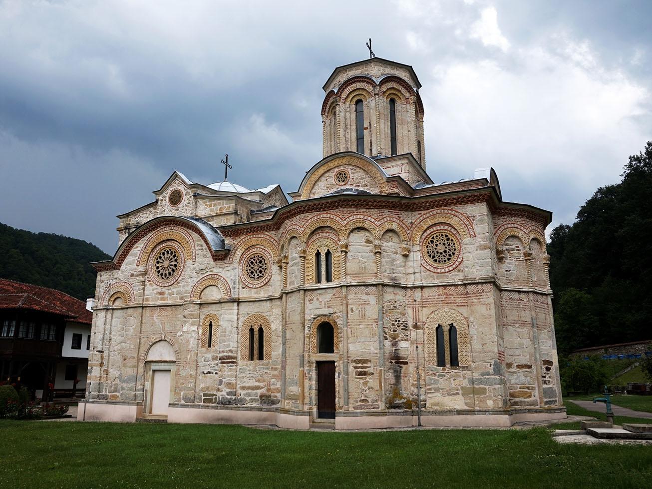 iglesia ortodoxa serbia - Ljubostinja