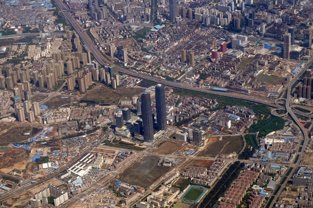 Chinese Megacities - Kunming from above