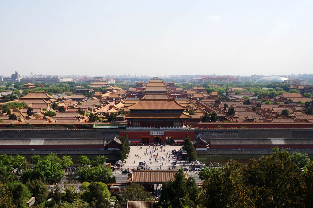 Important ctities of China - Forbidden City