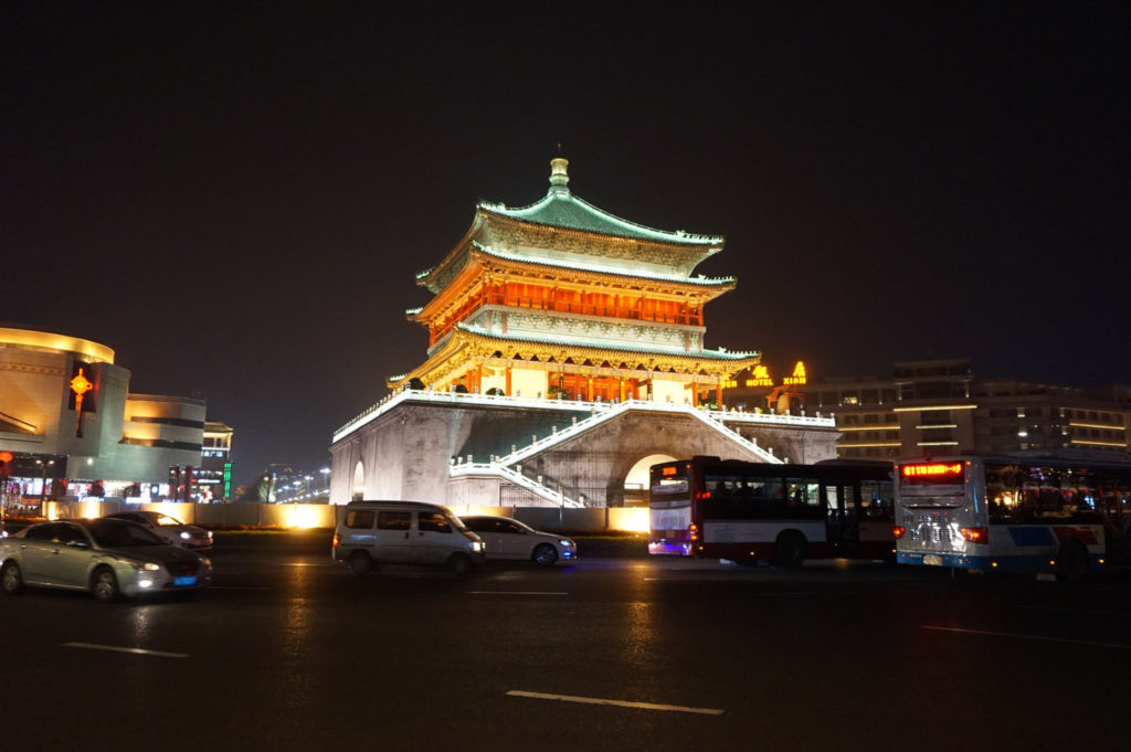 China's largest cities - Xi'an - Bell Tower