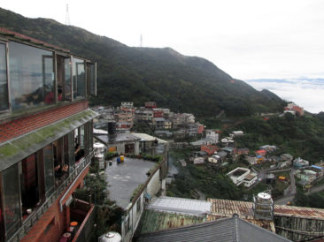 View from a café in Jiufen