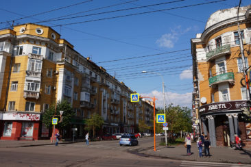 Krasnoyarsk and Stolby - Stalinist Architecture