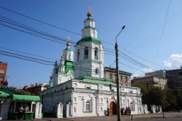 Krasnoyarsk and Stolby - Orthodox Cathedral of the Intercession
