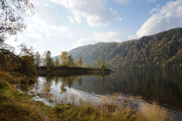 Krasnoyarsk and Stolby - Yenisei River near Divnogorsk
