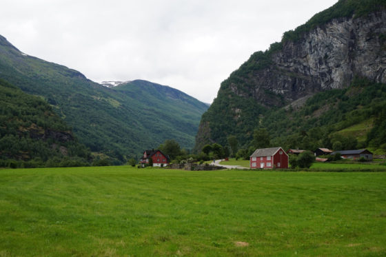 Sognefjord - On the way to Brekkefossen waterfall