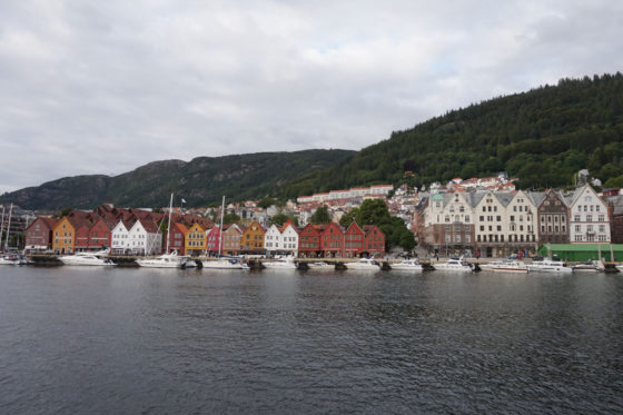 Sognefjord - Bergen seen from the boat