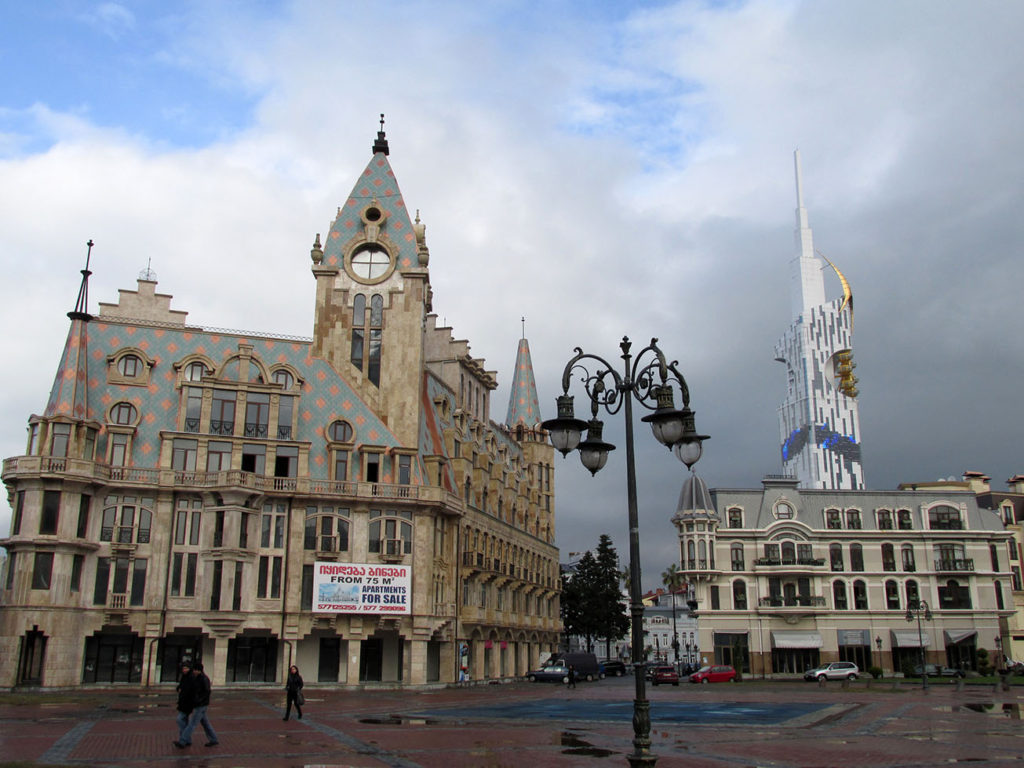 Batumi city squares - Europe square