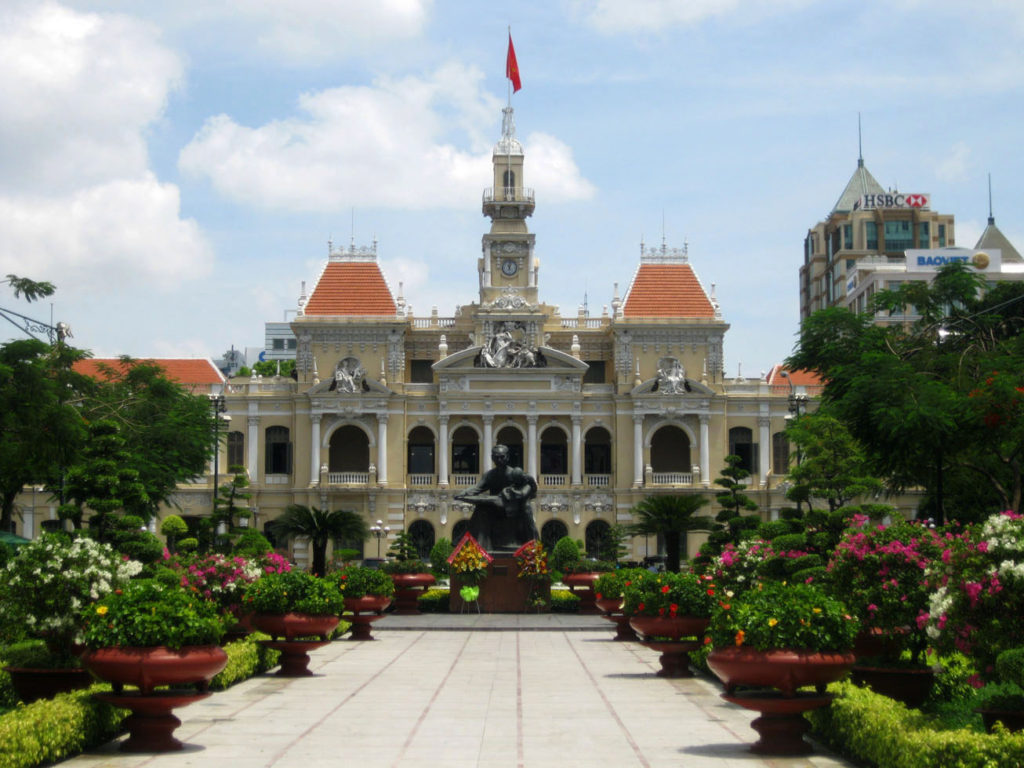 Places to visit in Ho Chi Minh City - City Hall
