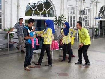 Employees of Malaysian Railways