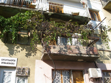 Kutaisi - Typical Georgian balcony