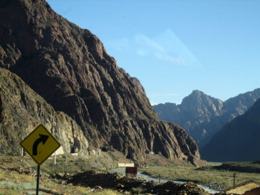 On the way to Aconcagua