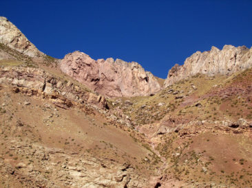 Gorgeous scenery of Aconcagua
