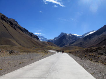 Walking to Aconcagua