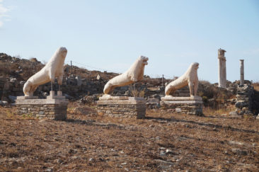 Famous lions from Delos