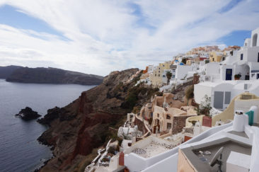 Oia from above