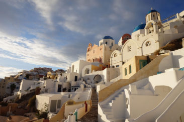 The famous spot in Oia