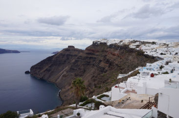Fira from above