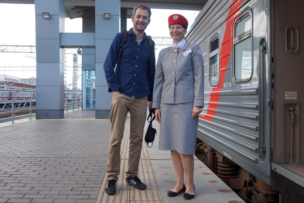 Russian Train Conductor