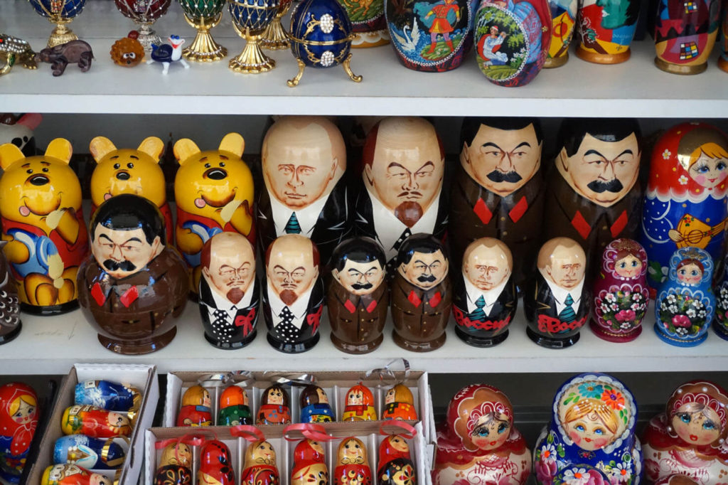 Russia is safe - Matryoshkas