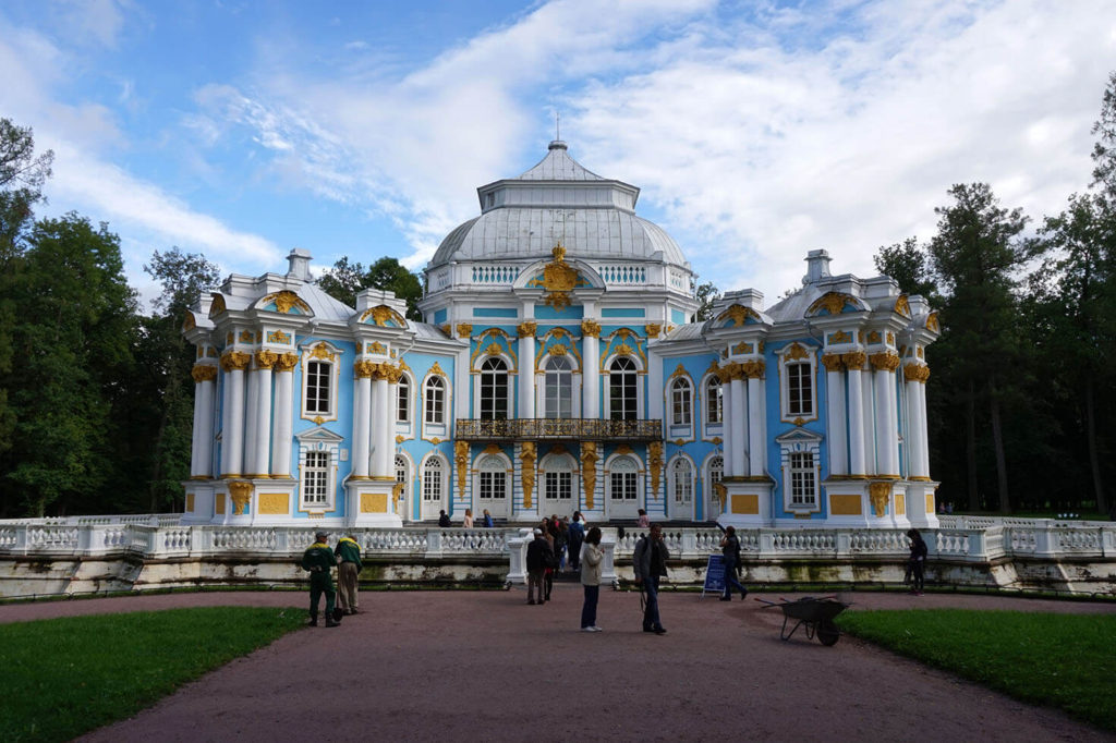 visit Peterhof and Pushkin