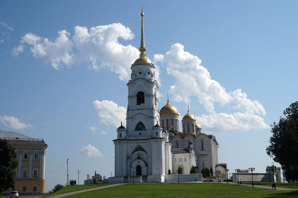 Holy Assumption Cathedral in Vladimir