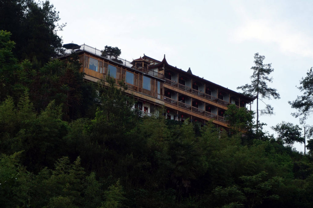Where to stay in Zhangjiajie - Near the west gate