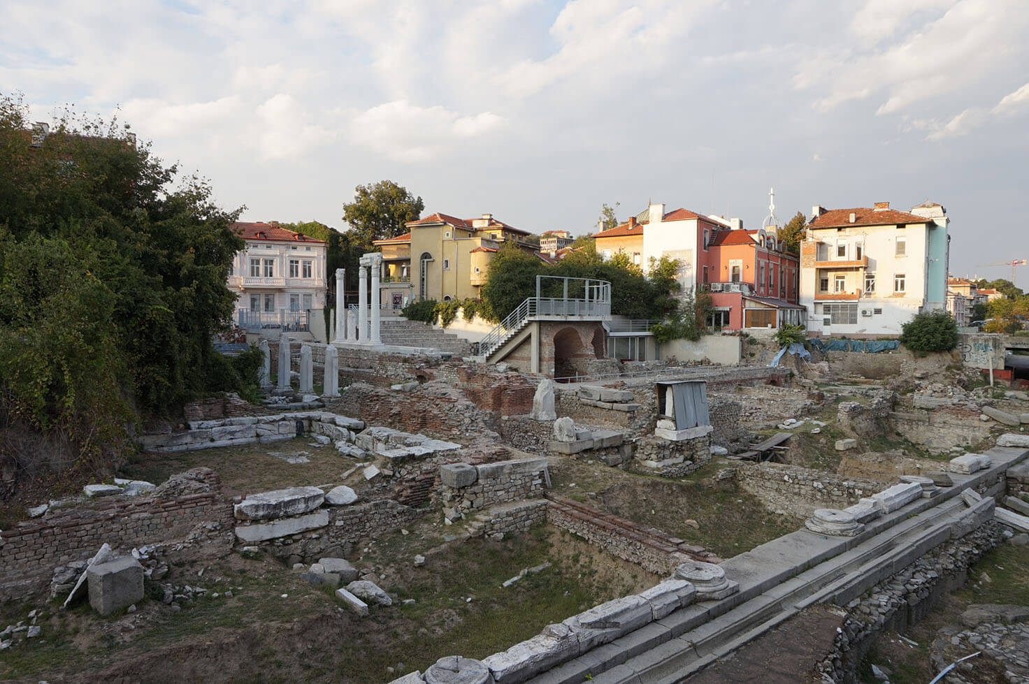 Plovdiv attractions - Ancient Forum