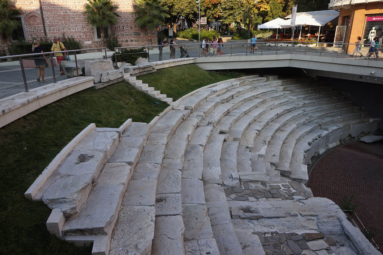 Plovdiv attractions - Ancient Stadium