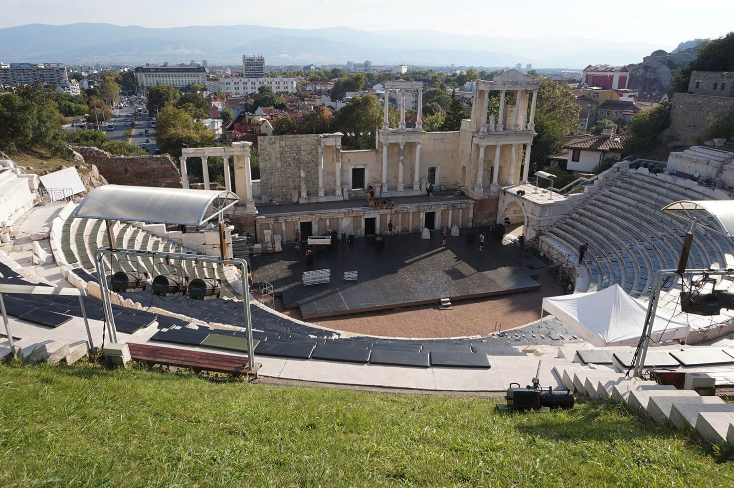 Plovdiv Old Town - Ancient Theater