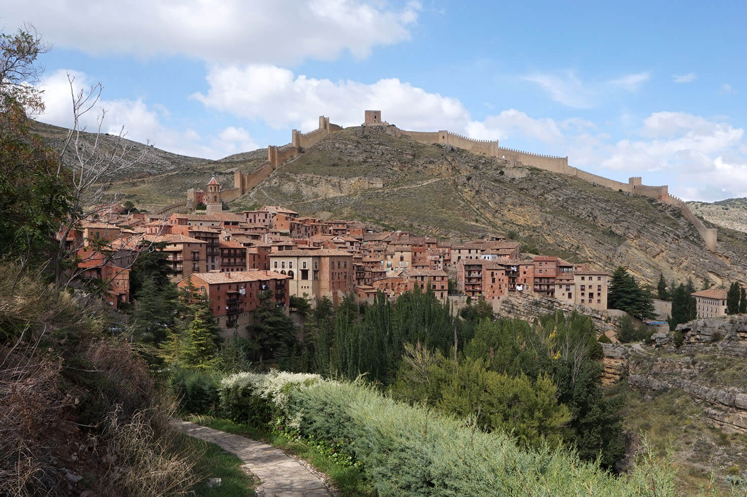Albarracin and Teruel