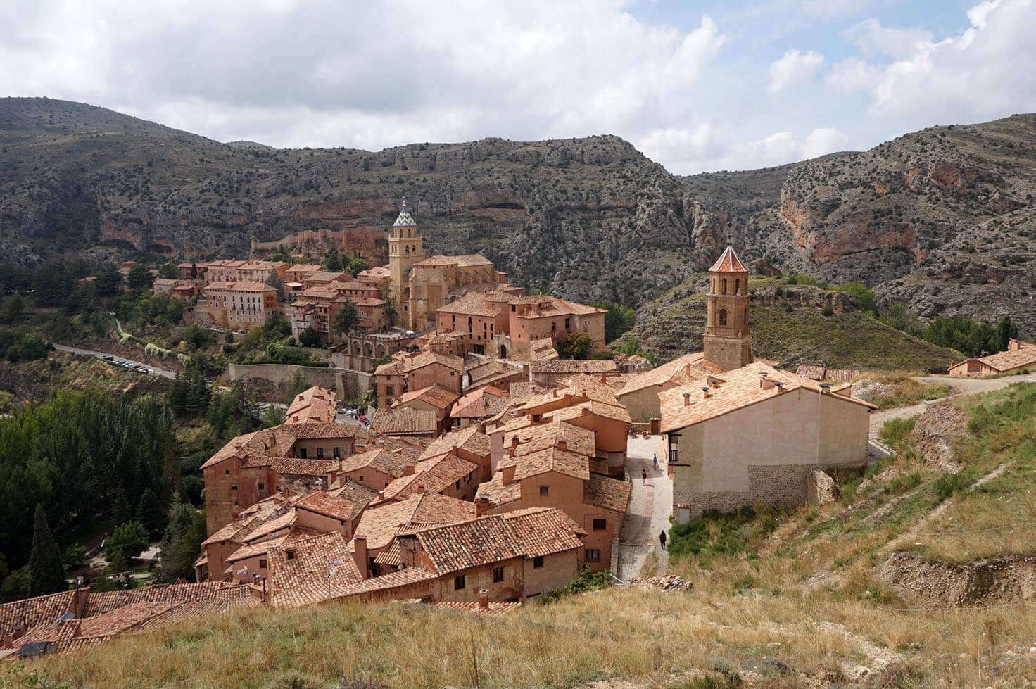 Albarracín Spain - View from the City Walls