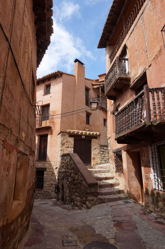 Albarracín - Street in the Old Town