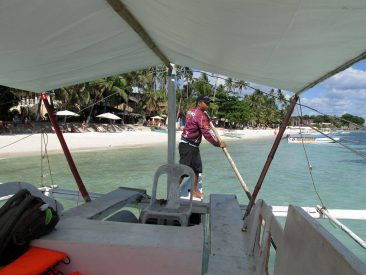 On the way to Balicasag Island