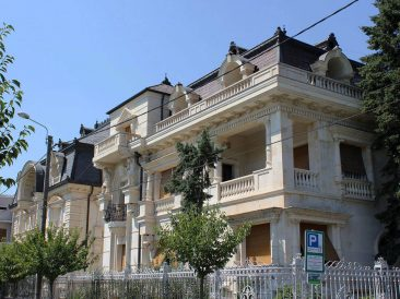 Kitchy new architecture in Timisoara