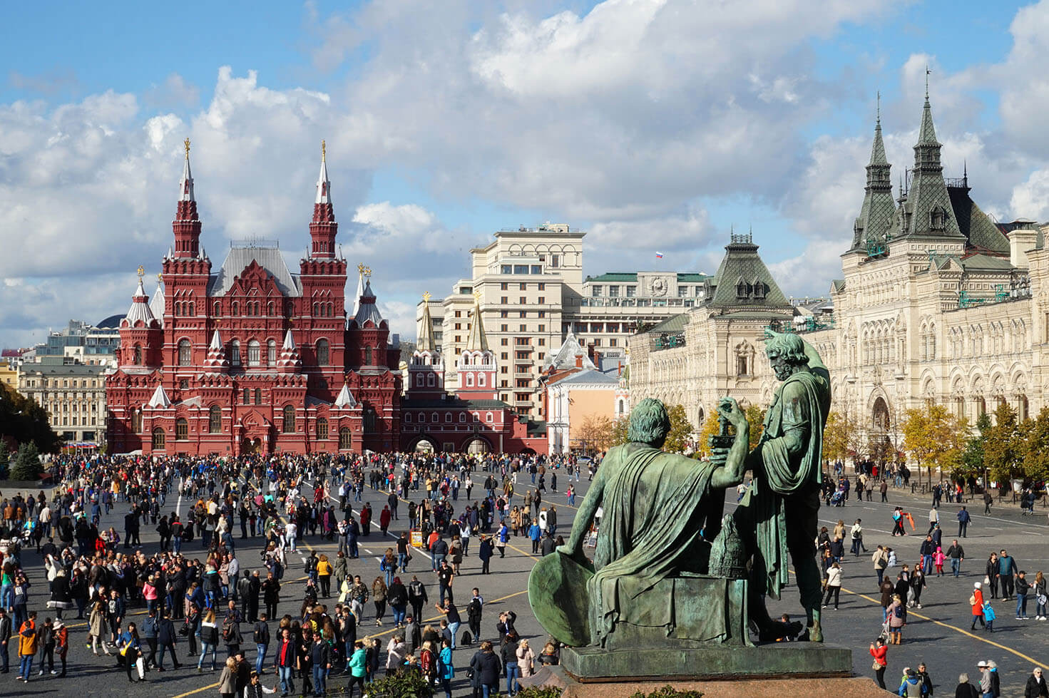 Moscow Architecture - Red Square