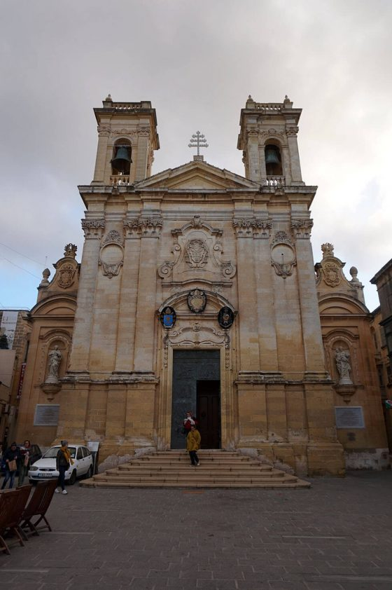 Church in Victoria, Gozo