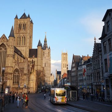 Downtown Ghent