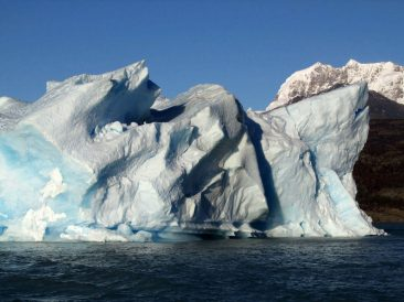 Ice is everywhere in Los Glaciares