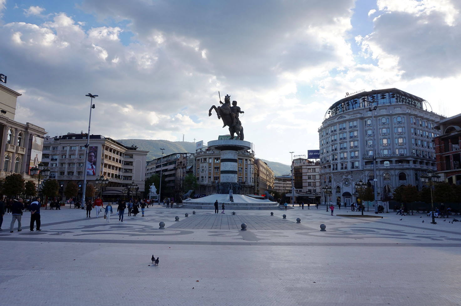 Skopje Architecture -  Macedonia Square