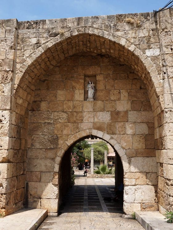 Entrance to Byblos Souk