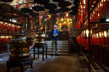 Inside Man Mo Temple