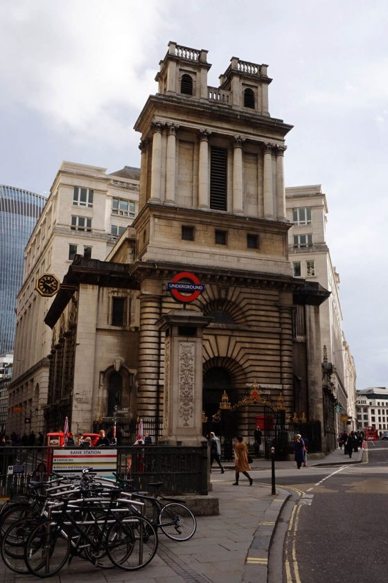 St Mary Woolnoth London