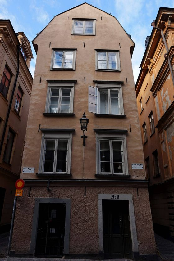Building in Gamla Stan