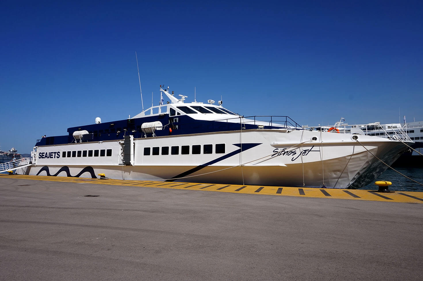 How to Get to Sifnos and Serifos - Sifnos Jet