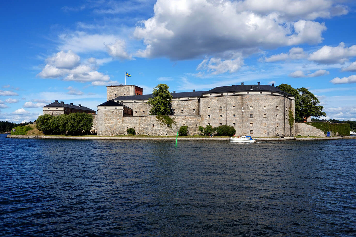Vaxholm Castle and Fortress