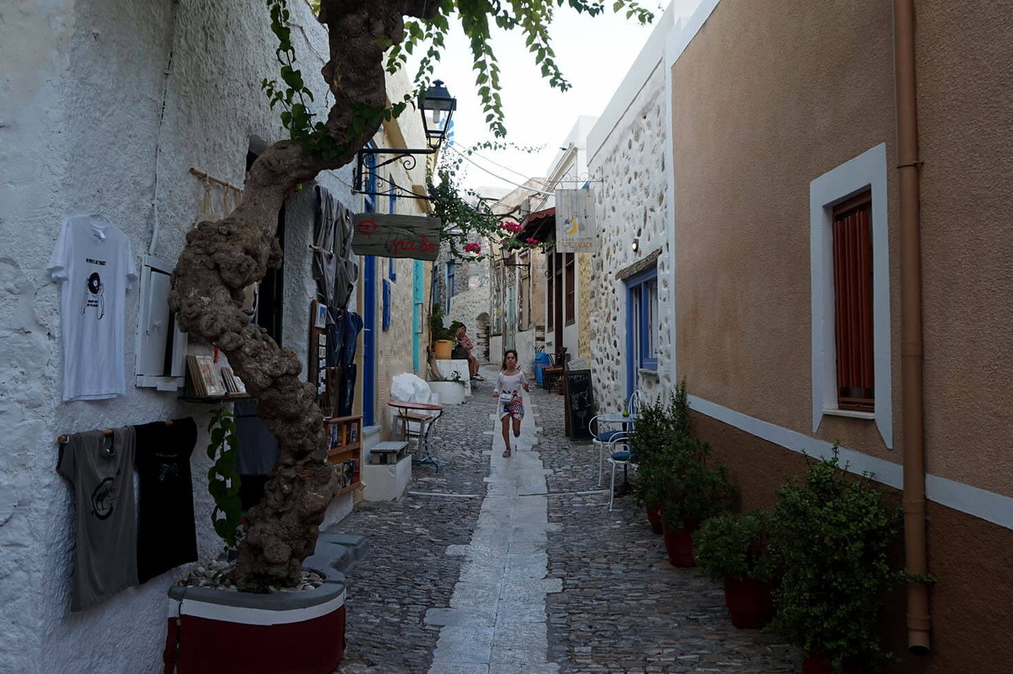 Street in Ano Syros