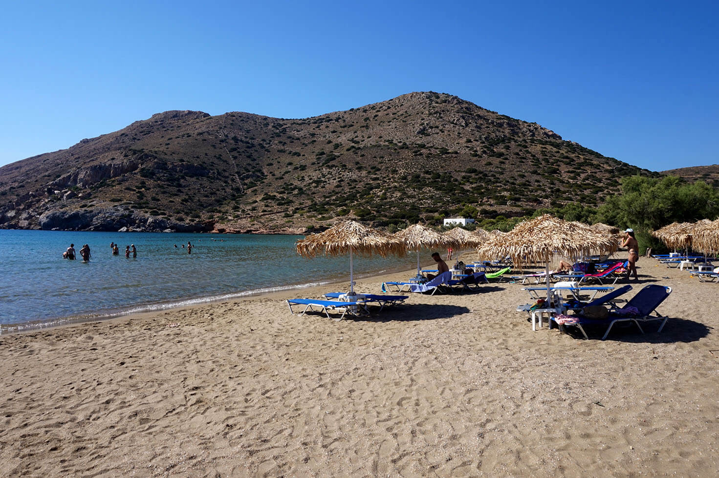 Galissas Beach, Syros Greece