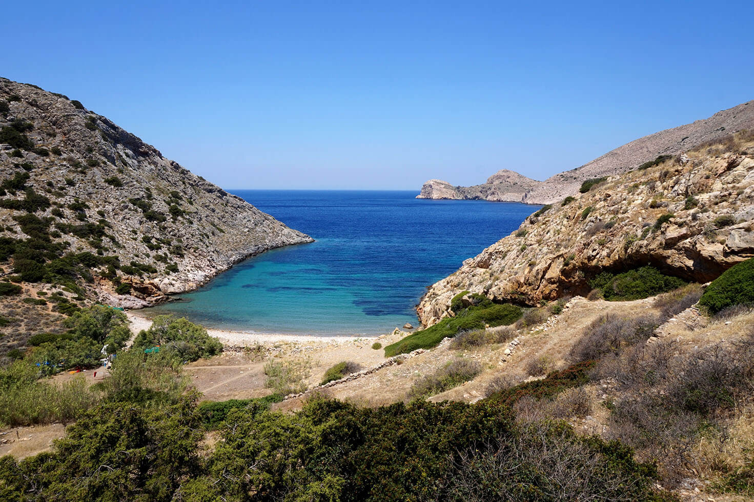 Fabulous beach in Syros