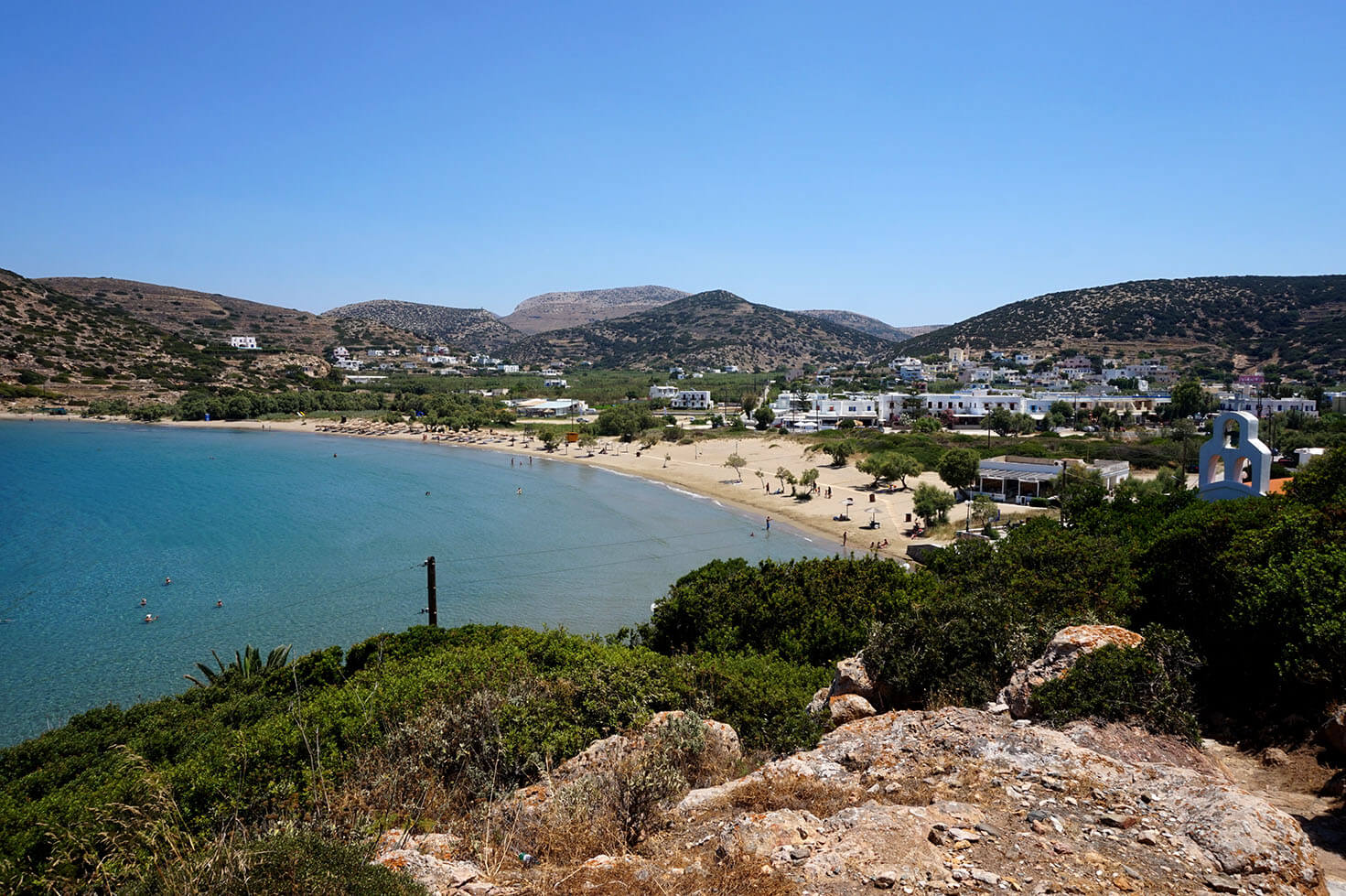 One of the best beaches in Greece - Galissas